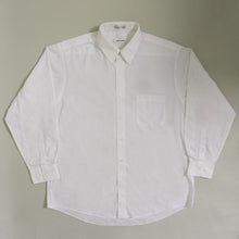 Load image into Gallery viewer, VINTAGE PIERRE CARDIN OVERSIZED BUTTON UP SHIRT | WHITE | S - XL
