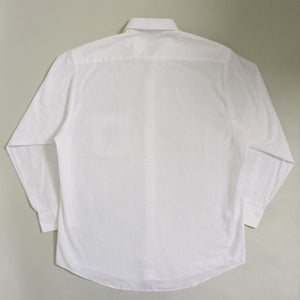 VINTAGE PIERRE CARDIN OVERSIZED BUTTON UP SHIRT | WHITE | S - XL