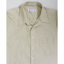 Load image into Gallery viewer, VINTAGE YVES SAINT LAURENT OVERSIZED BUTTON UP SHIRT | TAN | S - XL