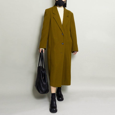 VINTAGE OVERCOAT | SPICE BROWN | S/M/L