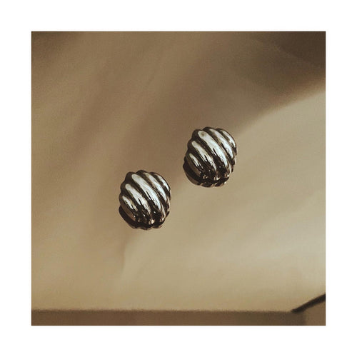 VINTAGE STERLING SILVER CLIP-ON EARRINGS