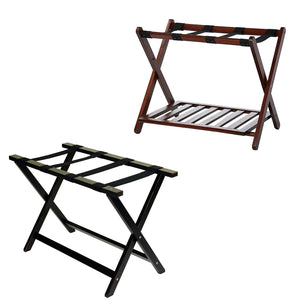 "Casual Home Shelf Luggage Rack with Heavy Duty 30"" Extra-Wide Luggage Rack"