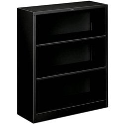 The-HON-Company-HS42ABC.P-Brigade-Metal-Bookcase-with-Three-Shelf,-3-Shelves