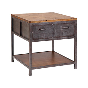 Brownstone End Table