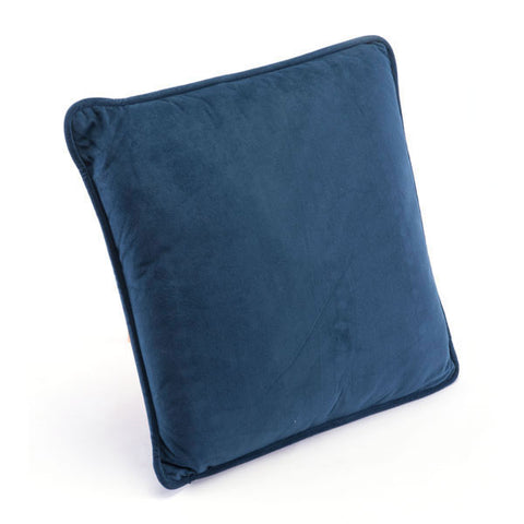 Navy Pillow Navy Velvet