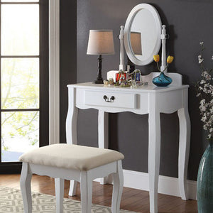 Transitional Vanity, White