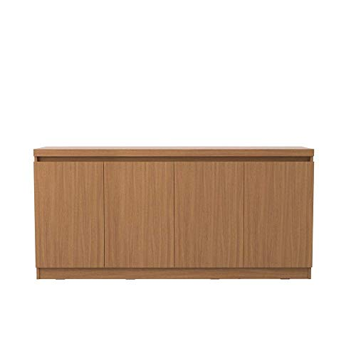 Manhattan Comforts Viennese Sideboard, 34.41x21.65x95.08, Maple Cream