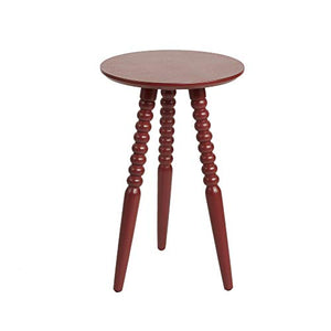 Silverwood Side Table Antique Red