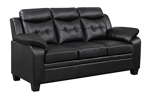 Finley Sofa with Extreme Padding Black