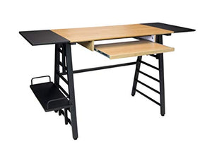 Calico Designs Convertible Art Drawing/Computer Desk for Kids in Ashwood/Graphite 51240