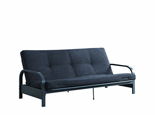 Coaster Futon Frame, Dark Grey