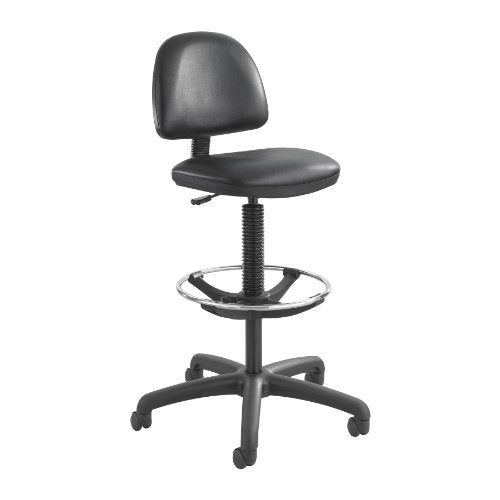 Safco 3406BV Task Chair, Black Vinyl