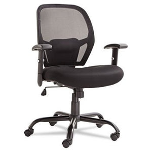 Alera MX4517 Merix Series Mesh Big/Tall Mid-Back Swivel/tilt Chair, Black