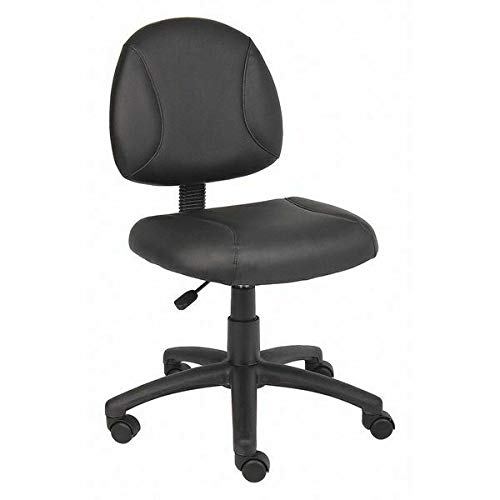 452R29 Task Chair,Adjustable Arms,Leather Seat 275 lb