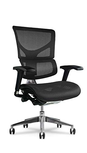 X Chair X2 Executive Task Chair, Black K-Sport Mesh