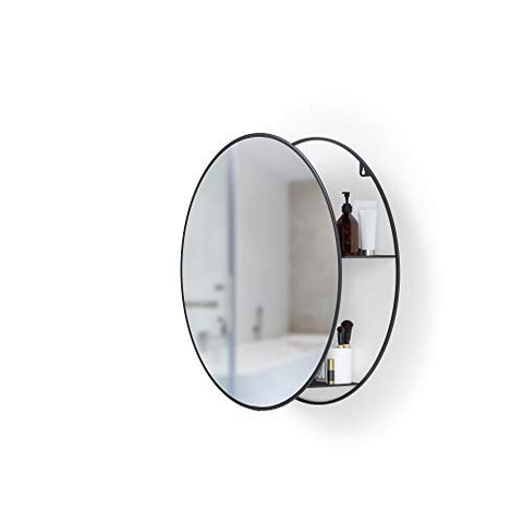 Umbra Cirko Mirror, Black