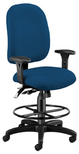 OFM 125-DK-804 Ergonomic Task Chair with Drafting Kit