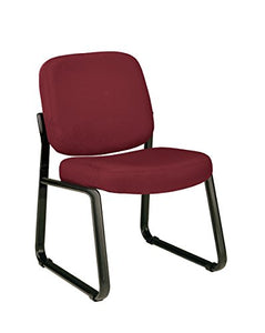 armless reception chair-wine