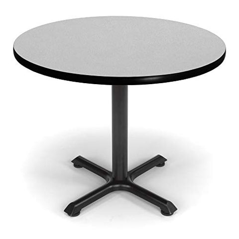 "OFM Core Collection 36"" Multi-Purpose Round Table, in Gray Nebula"