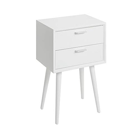 Silverwood Side Table White