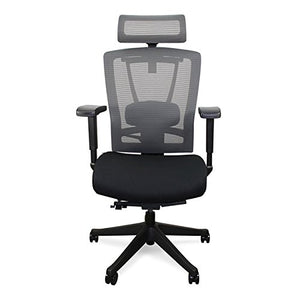 Vifah ActiveChair Ergonomic Office and Gaming Chair, 7-Way Adjustable, Black