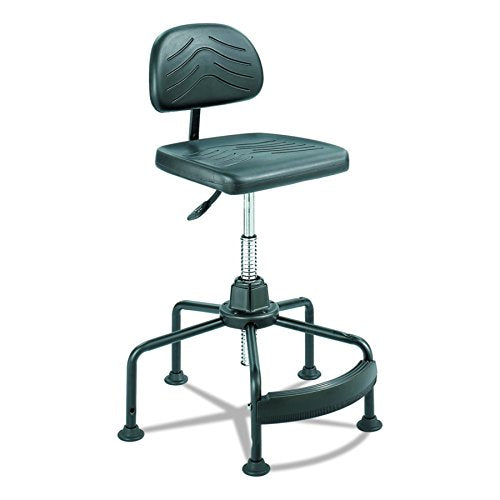 Safco Products Task Master Economy Industrial Chair (Additional options sold separately), Black