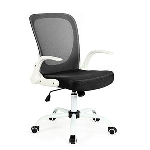 Modern Home Omni Mid - Back Office Chair, White/Black
