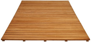 Arb Teak & Specialties Teak Shower Base Mat, 60 X 40 Inch