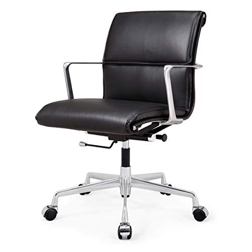 MEELANO Office Chair One Size Black