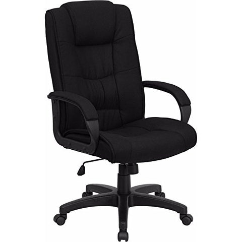 Offex High Back Black Fabric Executive Office Chair