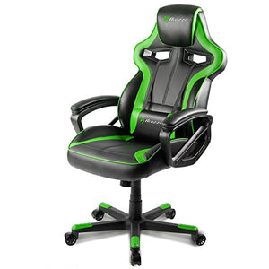 Arozzi Milano Enhanced Gaming Chair, Green