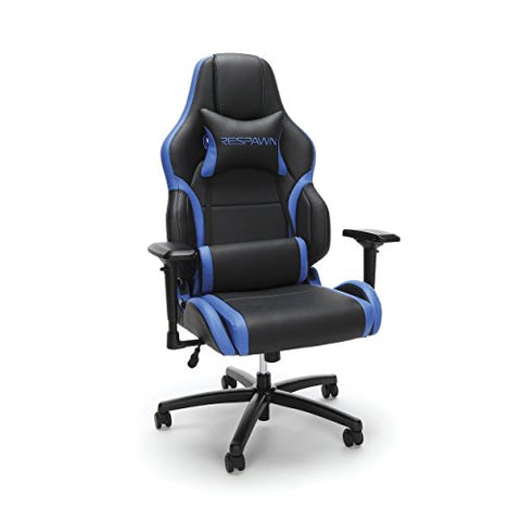 RESPAWN-400 Racing Style Gaming Chair - Big and Tall Leather Chair, Office or Gaming Chair, Blue