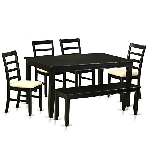6 PC Dining room set - Dining Table and 4 Dining Chairs and also Bench