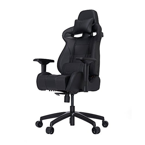 VERTAGEAR S-Line 4000 Gaming Chair, Medium, Black/Carbon