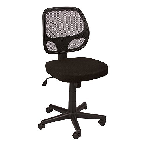Norwood Commercial Furniture Mesh Back Task Chair with Tilt, Black, NOR-IAH1044-SO