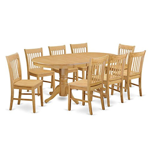 9 Pc Dinette Table set - Kitchen Table and 8 dinette Chairs