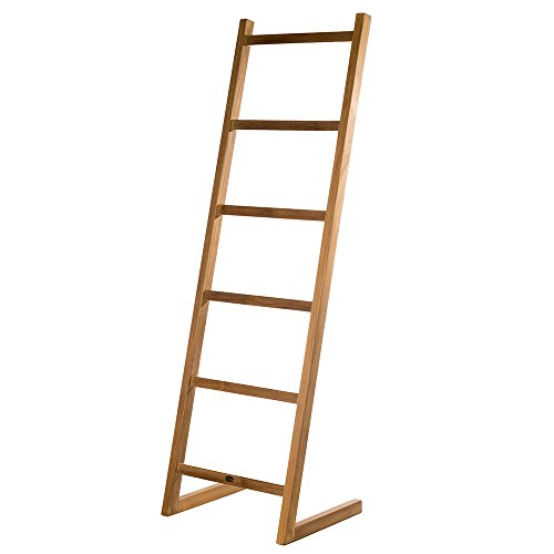 Arb Teak & Specialties Towel Self-Standing Decorative Ladder 71""