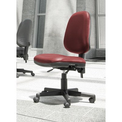 OFM Straton Series Anti-Microbial/Anti-Bacterial Vinyl Task Chair with Arms