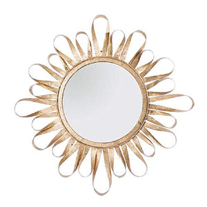 "Mud Pie Gold Ribbon 24"" Wall Mirror"