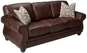 Signature Design by Ashley Breville Espresso Queen Sleeper Sofa