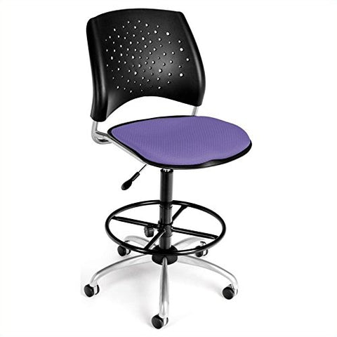 star swivel chair - lavender
