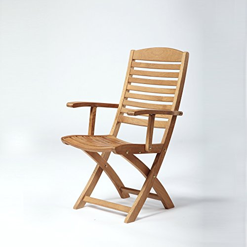 Arb Teak & Specialties Manhattan Folding Arm Chair