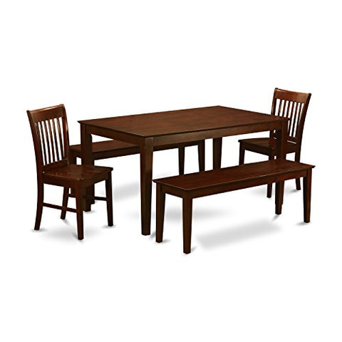 5 PC Kitchen Table set-Dinette Table and 4 Kitchen Chairs