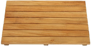 Arb Teak & Specialties Teak Shower Base Mat, 20 X 14 Inch