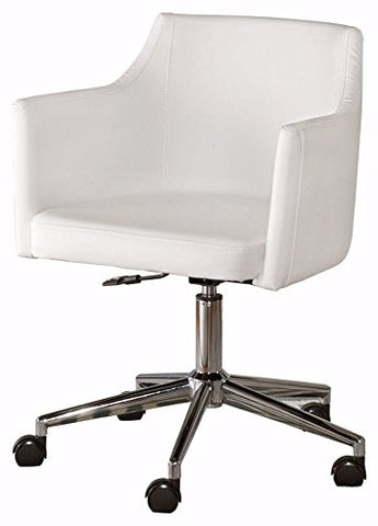Signature Design by Ashley Baraga Home Office Swivel Desk Chair White