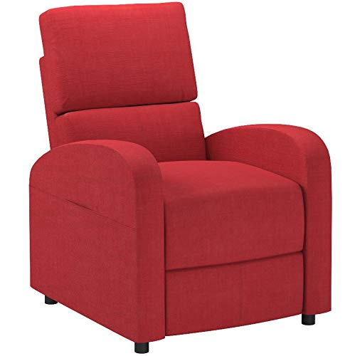 ACME Croria Recliner w/Power Lift - - Red Fabric