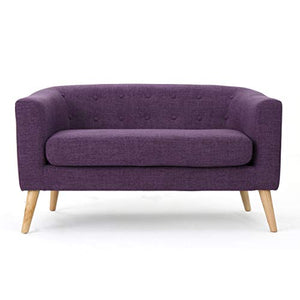 Christopher Knight Home Bridie Loveseat, Muted Purple