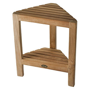 ARB SpaTeak Fiji Teak Corner Foot Rest with Shelf