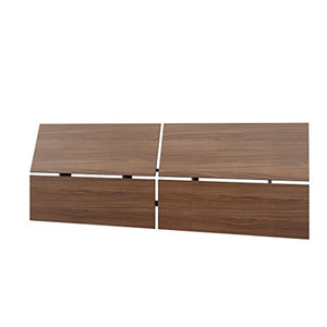 Nexera Alibi Queen Size Headboard, Walnut