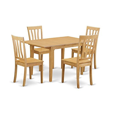 5 Pc Dinette set - Dinette Table and 4 Dining Chairs